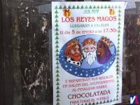 Cartel anunciador de Reyes en 2011