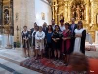 Argelina, Mati, Maricarmen, Bego, Chus, Conchi, Maribel, César, Agustín, Luis Angel, Pedro Luis y Tomás