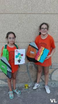 Ganadoras del concurso PINTAR CON LOS PIES